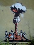 UK's Banksy Spray Jet Art15