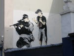 UK's Banksy Spray Jet Art 11