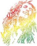 Bob Marley em Tipografia