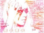 Lady Gaga em Tipografia