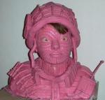 Maurizio Savini's Bubble Gum Sculpture(8)