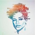 Rihanna em Tipografia