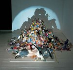 Shadow Art por Tim Noble and SueWebster