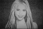 Shakira em Tipografia