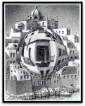 Balcony por M. C.Escher