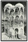 Belvedere por M. C.Escher