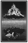 Castle in the Air por M. C.Escher