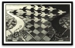 Day and Night por M. C. Escher