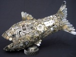 Escultura feita com lixo por Joe Pogan3