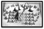 Magic Mirror por M. C.Escher