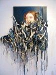 Our mother was always so… 2009, Oil on canvas por TitusKhapar