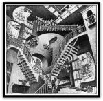 Relativity por M. C.Escher