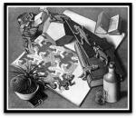 Reptiles por M. C.Escher