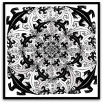 Smaller and Smaller por M. C.Escher