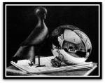 Still Life with Spherical Mirror por M. C.Escher