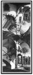 Up and Down por M. C.Escher