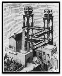 Waterfall por M. C.Escher