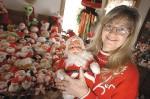 Coleção de Bonecos de Papai Noel