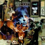 Capa do CD de Alice Cooper - the last temptation - por Dave Mckean