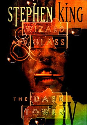 capa livro Wizard and Glass de Stephen King por Dave mckean