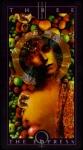 Carta de tarot - a imperatriz - por Dave Mckean