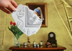 """""""Pencil Vs Camera!"""" series por Ben Heine"""