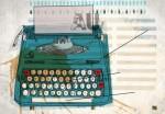 Typewriter by Merrick Angle