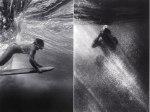 Black and White Underwater World por Wayne Levine