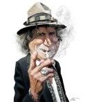 Calcinaro's Keith RichardsCaricature