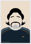 Diego Maradona by AliJabbar