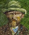 Van Gogh made of Leek