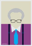 Larry King by Ali Jabbar