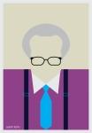 Larry King by AliJabbar