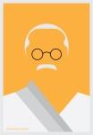 Mahatma Gandhi by AliJabbar