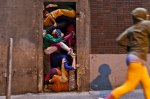 Willi Dorner's Bodies in Urban Spaces Artwork2