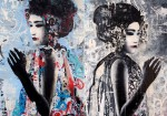 Hush  Graffiti Artwork3