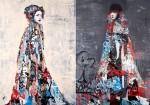 Hush  Graffiti Artwork