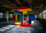 Georges Rousse Anamorphic Artwork