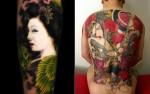 Khan Tattoo Artwork