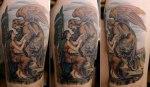 RedLetter1 Tattoo Artwork
