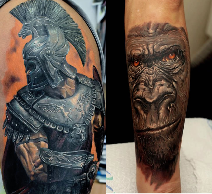 ... Tattoos mais Hiperealistas já Produzidas » Dmitriy Samohin Tattoo