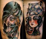Kelly Doty Tattoo Artwork
