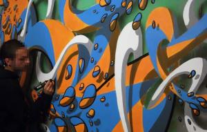 Crin Graffiti Artwork