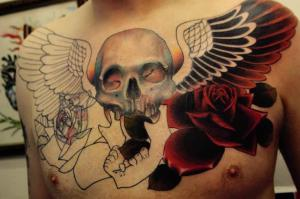 Antony Flemming Tattoo Artwork
