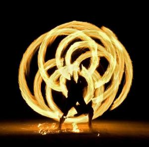 Burning Man Fire Dancework
