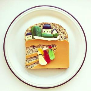 Ida Skivenes Food Artwork